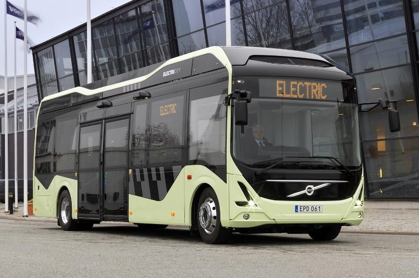 Taki w pełni elektryczny autobus volvo electric  jeździł w...