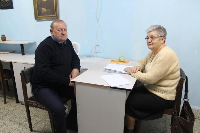 Józef Jedynak i Krystyna Gaudyn