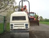 W Byczu w końcu kładą nowy asfalt