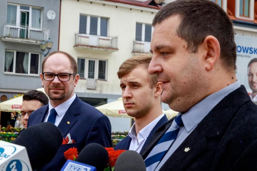 Marcin Sawicki z Konfederacji podziękował wszystkim za...