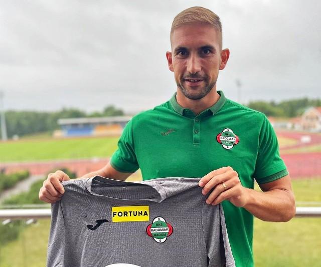 Goncalo Silva podpisał umowę z Radomiakiem