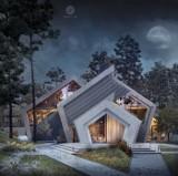 Dom jak szczyty górskie - wyjątkowy Pentahouse projektantki z Chojnic Kariny Wiciak