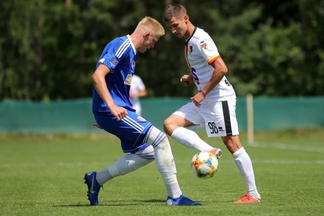 Patryk Klimala strzelił dwa gole w wygranym przez Jagę 3:0 sparingu z Pogonią Siedlce