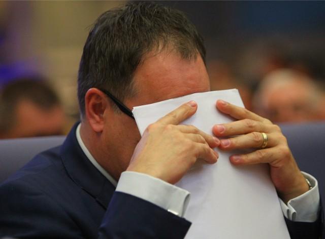 Leszek Wojtasiak pozostanie radnym Sejmiku, członkiem władz PO i jej wpływowym działaczem