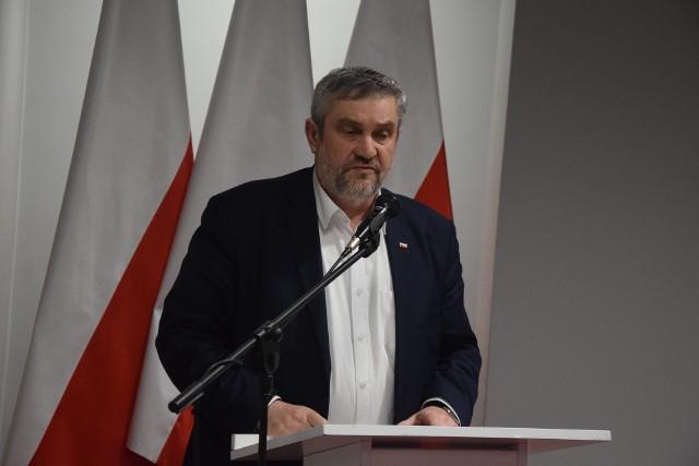 Minister Jan Krzysztof Ardanowski spotkał się z rolnikami w Lubuskim Urzędzie Wojewódzkim.