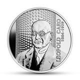 Nowa moneta kolekcjonerska NBP o nominale 10 zł do kupienia od 14 października. Wielcy polscy ekonomiści – Leopold Caro [zdjęcia]