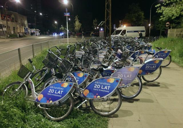 Rower miejski cieszy się dużym powodzeniem
