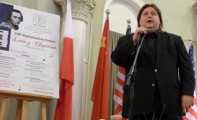 Znakomity pianista i pedagog Krystian Tkaczewski już po raz trzeci organizuje międzynarodowy konkurs w Busku-Zdroju.
