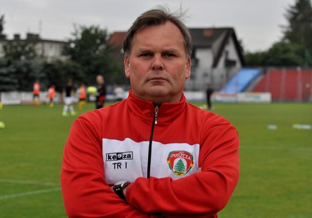Trener Puszczy Niepołomice Tomasz Tułacz