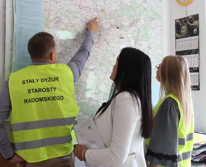 """W środę i czwartek 16-17 września na terenie powiatu radomskiego zostanie przeprowadzone powiatowe ćwiczenie obronne pod kryptonimem """"Radomka 20""""."""