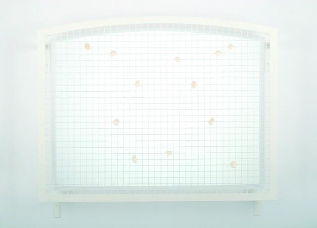 """""""150x200x10"""", 1999 r. siatka stalowa, mydło"""