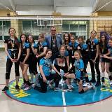 Siatkarki UKS Promień Żary świętują wielki sportowy sukces