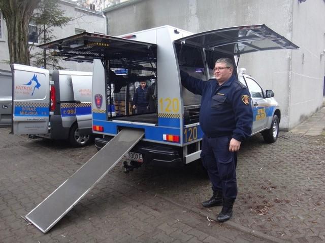 Animal Patrol straży miejskiej dostanie kolejny nowy samochód.