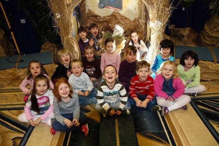 Dzieci z przedszkola nr 82 przy ul. Herberta rwą się do występów