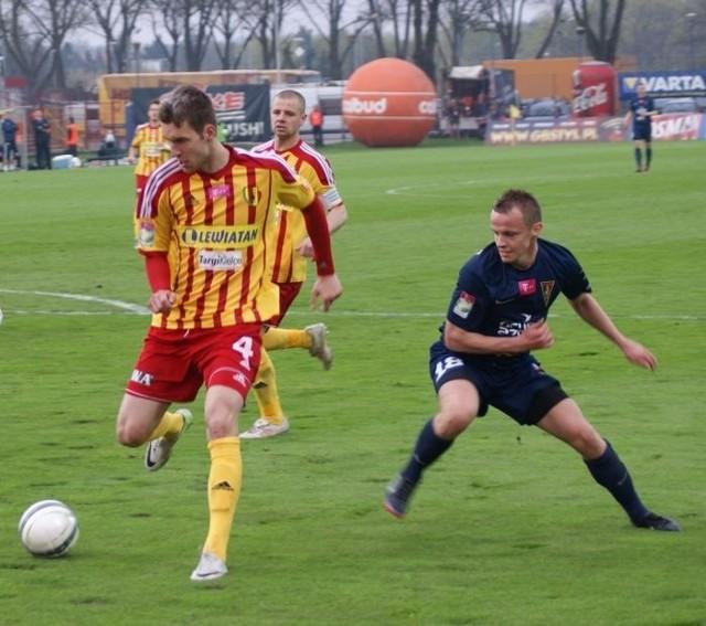 W meczu z Pogonią od pierwszych minut zagra Malarczyk