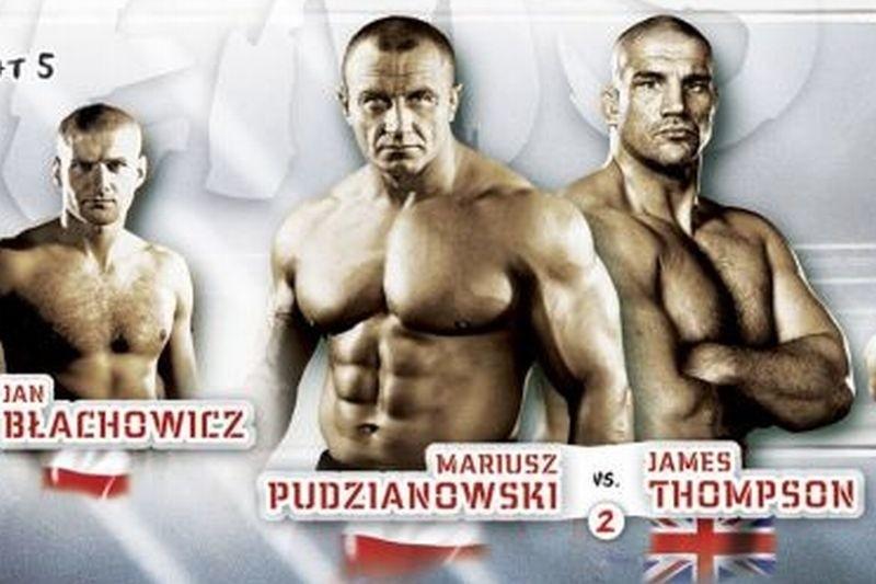 Dziś walką wieczoru KSW 17 było starcie Mariusz Pudzianowski vs James Thompson. Walka Pudziana trwała dwie rundy. Obejrzyj całą walkę.