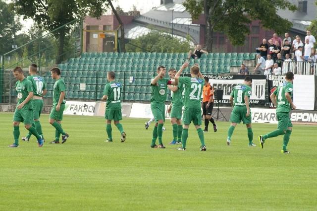 Piłkarze Okocimskiego zamykają 1. ligową tabelę