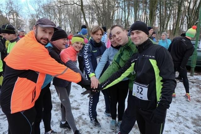 Biegi w białostockim Lesie Zwierzynieckim organizowane są w pierwszych niedzielach miesiąca. W lutowej odsłonie tych zawodów wzięło udział ok. 150 osób.