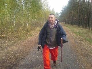 Maciej Stadniczuk w drodze do Lubniewic
