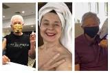 W złotej maseczce i z uśmiechem na twarzy. Politycy, aktorzy i celebryci, którzy zaszczepili się przeciw COVID-19
