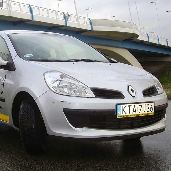 Renaul clio III to samochód dynamiczny i bardzo bezpieczny.