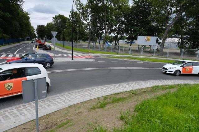 Rondo u zbiegu ulic Piłsudskiego i Roosevelta