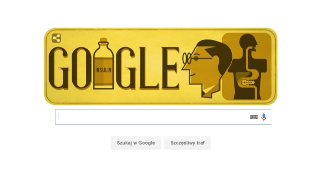 Frederick Banting. Kim był bohater Google Doodle?