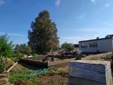 Trwa rozbudowa biblioteki w Mirowie. Będzie nowoczesna sala nie tylko dla czytelników