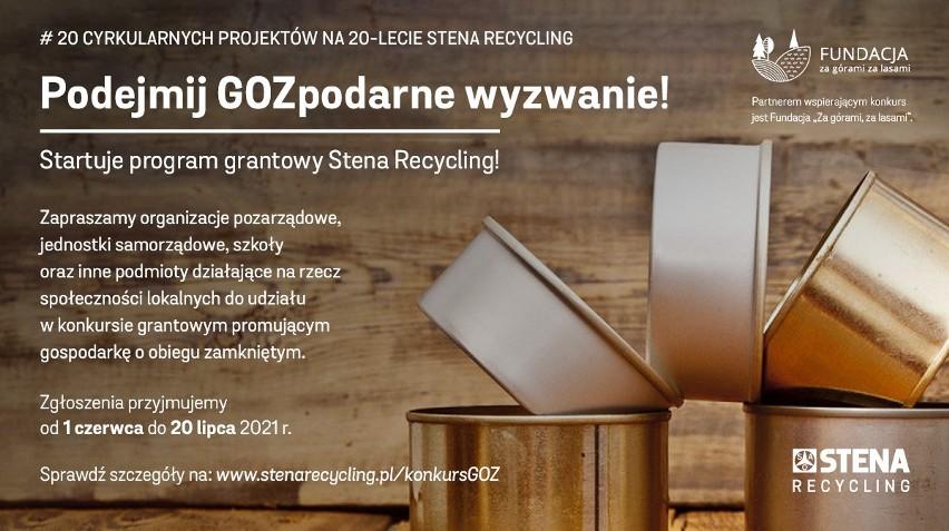 Stena Recycling dofinansuje 20 lokalnych, ekologicznych projektów [KONKURS]