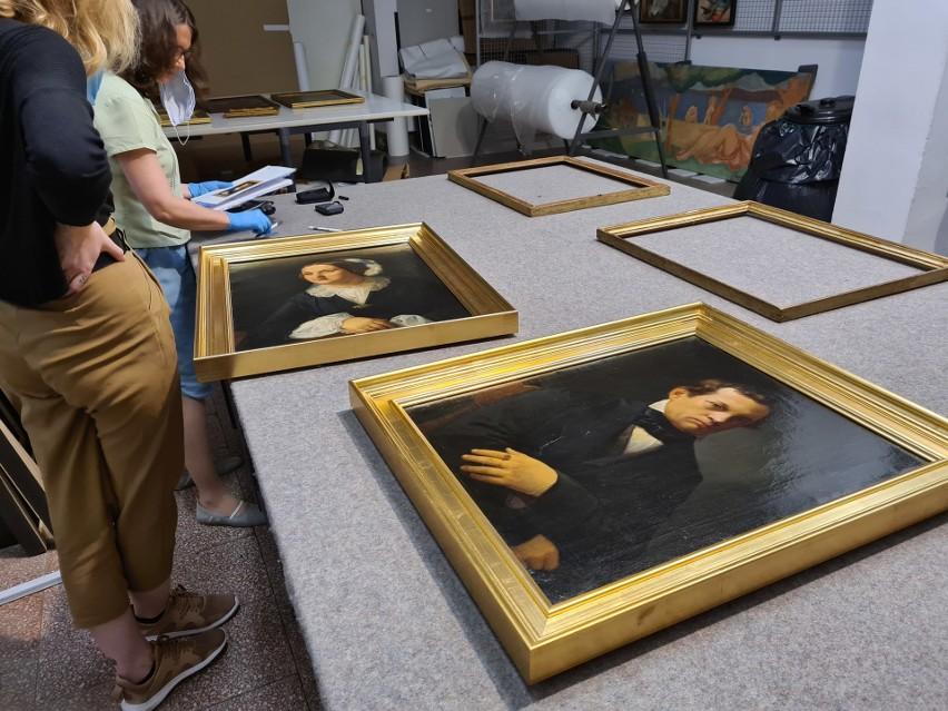 Portrety Pauliny i Antoniego Giebułtowskich zostały przekazane w depozyt Muzeum Narodowemu w Krakowie.