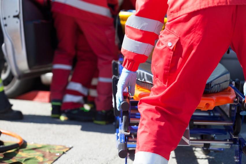 Interwencja policji w szpitalu św. Jerzego w Kamieniu...