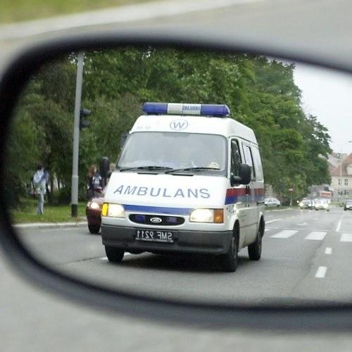 Wypadek w centrum Szczecina. Dwie osoby ranne