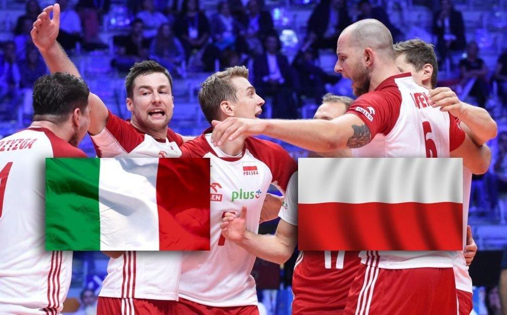 c45ea26d6 Polska Włochy relacja na żywo. Po wczorajszym pewnym zwycięstwie z Serbią  3:0 nasza reprezentacja w siatkówce zmierzy się dziś z Włochami.