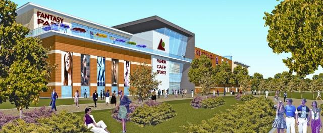 Tak ma według wstępnych założeń wyglądać centrum Plaza w Kielcach