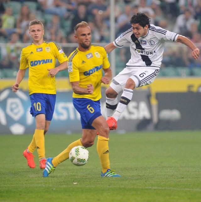 Jedynym pozytywem w meczu z Arką Gdynia był powrót do gry Guilherme.