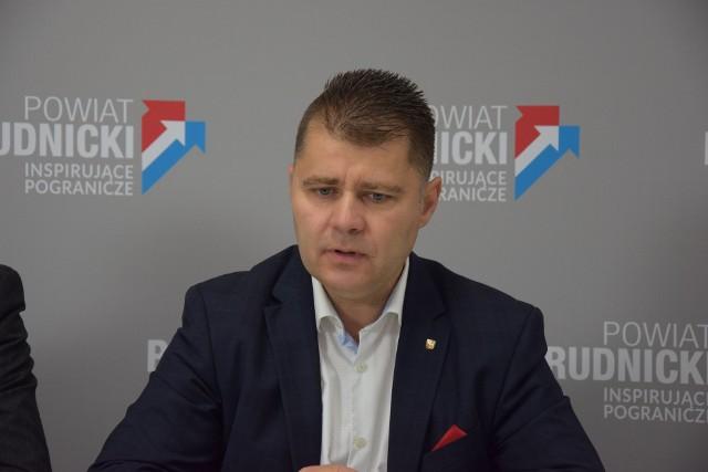 Starosta Radosław Roszkowski