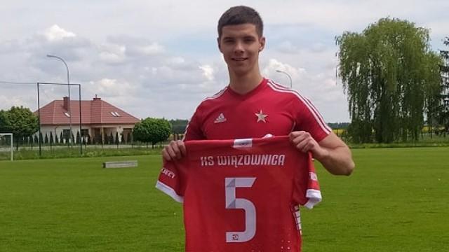 Kamil Bentkowski po jednym sezonie opuścił Wiązownicę
