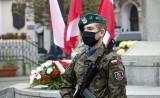Obchody Święta Niepodległości w Grudziądzu. Tym razem z powodów pandemii uroczystości były skromne [zdjęcia]