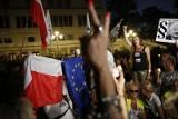 Warszawa: Protesty w obronie sądów bezskuteczne [ZDJĘCIA] Senat przyjął nowelizację ustaw o Sądzie Najwyższym, KRS i prokuraturze [WIDEO]