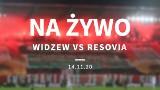 WIDZEW ŁÓDŹ - RESOVIA wynik meczu. 14.11.2020