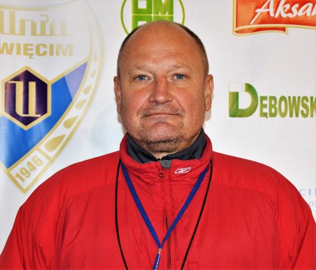 Josef Dobosz, trener Unii Oświęcim