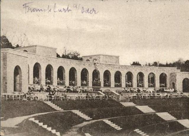 Stadion w Słubicach. Sierpień 1929
