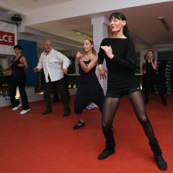 Sobotnie zajęcia w klubie Expert Fitness przy ulicy Szczecińskiej 1 w Kielcach.