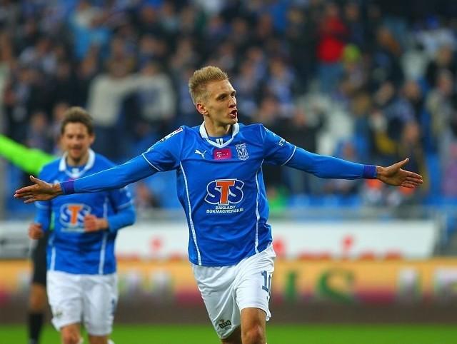 Łukasz Teodorczyk ma zagrać przeciwko Lechii Gdańsk
