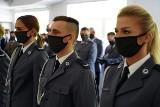 Komenda Miejska Policji w Białymstoku obchodziła święto. Były awanse, wyróżnienia i ślubowanie nowo przyjętych funkcjonariuszy (zdjęcia)