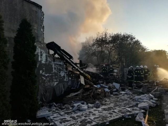 W niedzielę pod gruzami domu znaleziono ciała obu zaginionych mężczyzn
