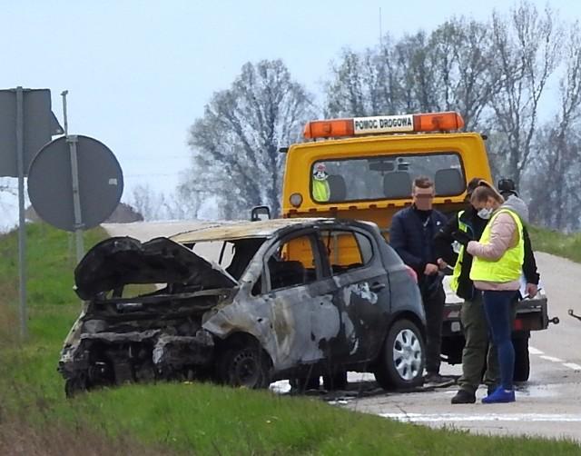 W tragicznym wypadku w m. Szepietowo-Żaki zginął policjant