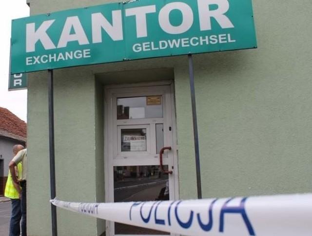 Do napadu na kantor w Dobrodzieniu doszło w ubiegłą środę.