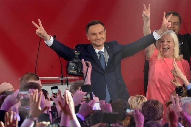 Wyniki wyborów prezydenckich 2015. Exit poll  dla Andrzeja Dudy