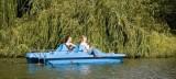 Pakość - Tutaj mogło dojść do tragedii. Na Jeziorze Pakoskim w Jankowie wywrócił się rower wodny. Wypożyczalnia sprzętu wodnego zamknięta